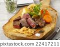 스테이크, 쇠고기, 소고기 22417211