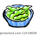 vegetables, beans, bean 22418608