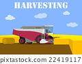combine, harvest, harvester 22419117