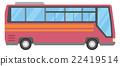 旅游大巴 公共汽车 巴士 22419514
