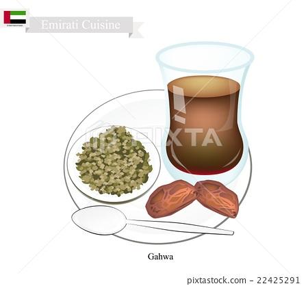 Gahwa Coffee, Popular Dink in United Arab Emirates 22425291