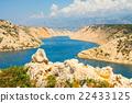 Beautiful view from the Maslenica Bridge, Croatia 22433125