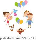 气球 汽球 家庭 22435733