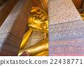 Big Reclining Buddha, Wat Pho, Bangkok of Thailand 22438771