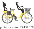 bicycle, bike, carriage 22438829