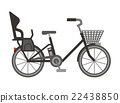 bicycle, bike, carriage 22438850