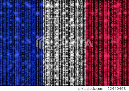 Digital French flag 22440468