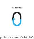 Creative O- letter icon abstract vector design  22443165