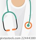 Doctor Stethoscope Vector Illustration. 22444380