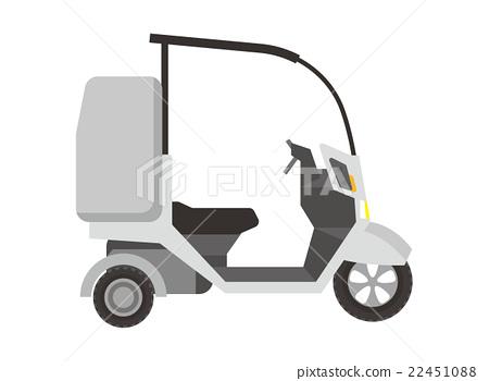 자전거 배달 배달 [차량 시리즈] 22451088