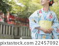 Yukata young lady 22457092