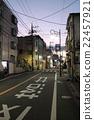 evening, road, signal 22457921