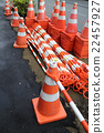 construction, traffic cone, red 22457927