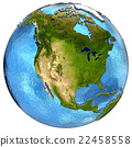 North American continent on Earth 22458558