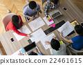 商务人士 协定 会议 22461615