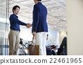 男人 拜訪者 握手 22461965
