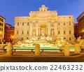 Fountain di Trevi in Rome, Italy 22463232