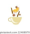 cinnamon, orange, spices 22468970