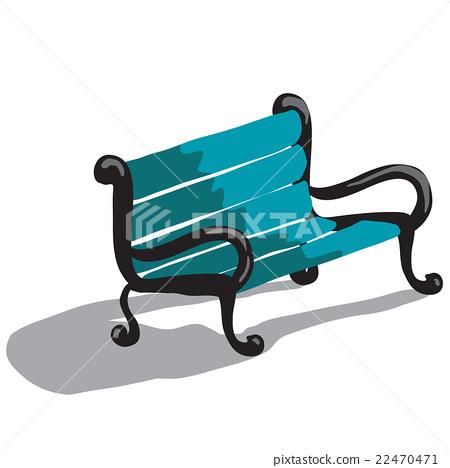 park bench 22470471