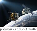 Crew Exploration Vehicle Docking 22476482