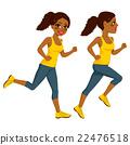 Athlete Runner Woman 22476518
