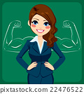 Strong Business Woman 22476522