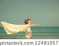 child, kid, beach 22481057