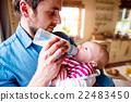 father, baby, newborn 22483450