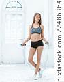 การออกกำลังกาย,ยิม,ฟิตเนส 22486364