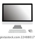 桌面 個人電腦 電腦 22488017