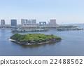 從彩虹橋和第6個Daiba看東京灣 22488562