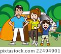 營地 露營 夏 22494901