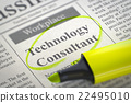 Now Hiring Technology Consultant. 22495010