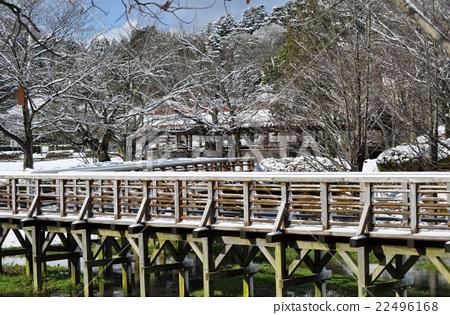 Landscape with gentle scenery Snowy landscape 22496168