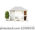 家 獨立式住宅 房屋 22496545