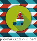 christmas, icon, tree 22507471