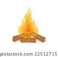 bonfire, firewood, firewoods 22512715