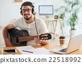 Working musician 22518992