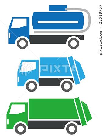 垃圾車 特種車輛 交通工具 22519767