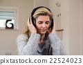 headphones, listening, music 22524023