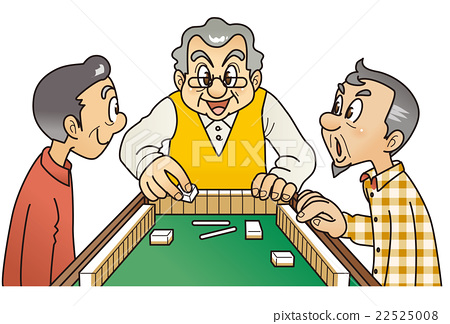 mahjong, gents, male 22525008