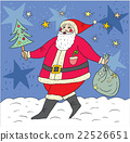 Santa Claus and bag with gifts 22526651