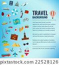 Travel and tourism concept. Travel background.  22528126