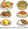 食物 食品 一套 22537982