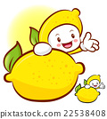 Lemon characters to promote fruit selling. Fruit  22538408
