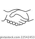 Vector of cartoon hand 22542453