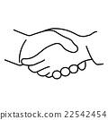 Vector of cartoon hand 22542454