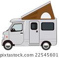 輕型汽車 露營者 露營車 22545601