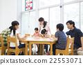 초등학생과 젊은 여성과 남성 22553071