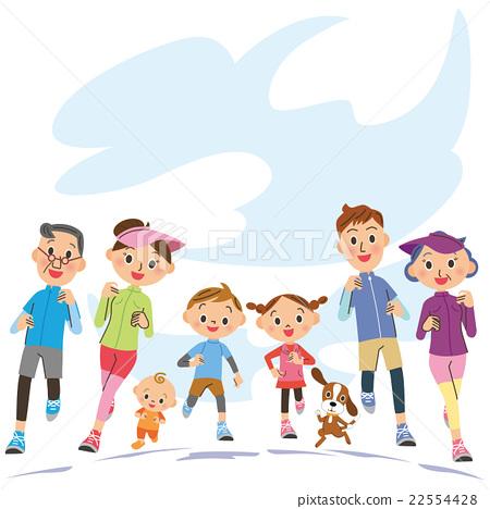 父母和小孩 親子 家庭 22554428